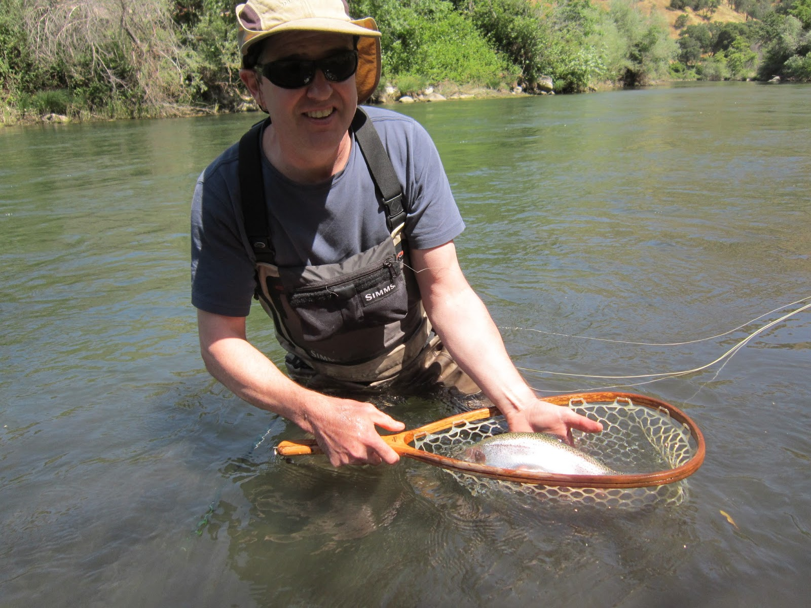 Rob russell 39 s northern california fly fishing for Berryessa fishing report