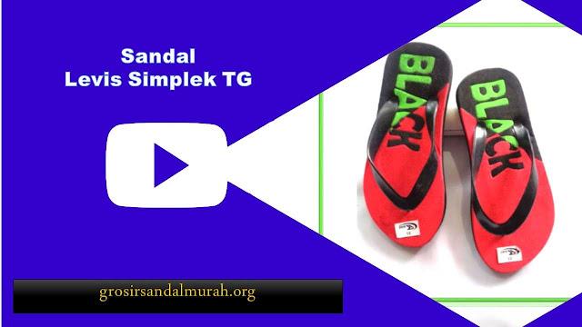grosirsandalmurah.org - Sandal Anak TG - Levis Simplek TG