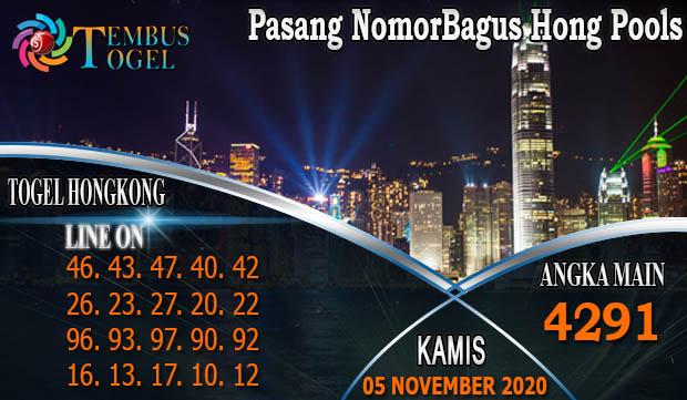 Pasang NomorBagus Hongkong Pools Hari Kamis 05 November 2020