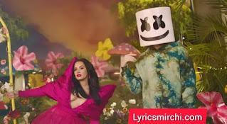 OK Not To Be OK Song Lyrics | Marshmello & Demi Lovato
