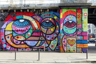 Sunday Street Art : dAcRuZ - rue de l'Ourcq - Paris 19