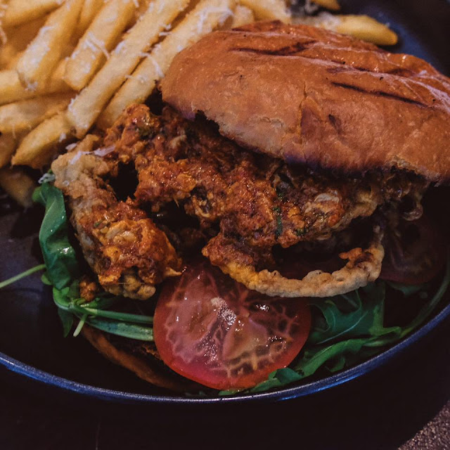 Chilli Crab Burger