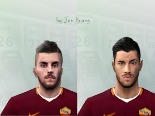 PES 6 Facepack AS Roma 2018/2019 by Jun Huang