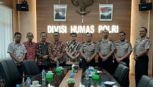 DPP IMO Indonesia Berkunjung ke Humas Polri, Akan Segera MOU Lawan Berita Hoax