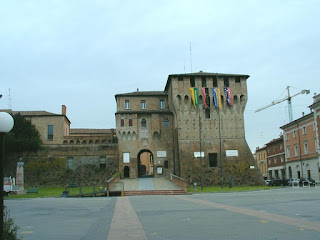 The Rocca Estense in Lugo di Romagna now serves as the town's municipal offices