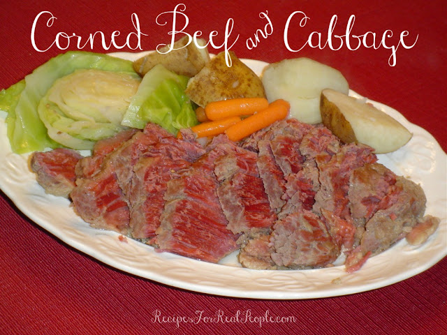 You don't have to be Irish to enjoy a flavorful meal of Corned Beef and Cabbage. Here's my recipe for this traditional meal in a pot, just in time for St. Patrick's Day.