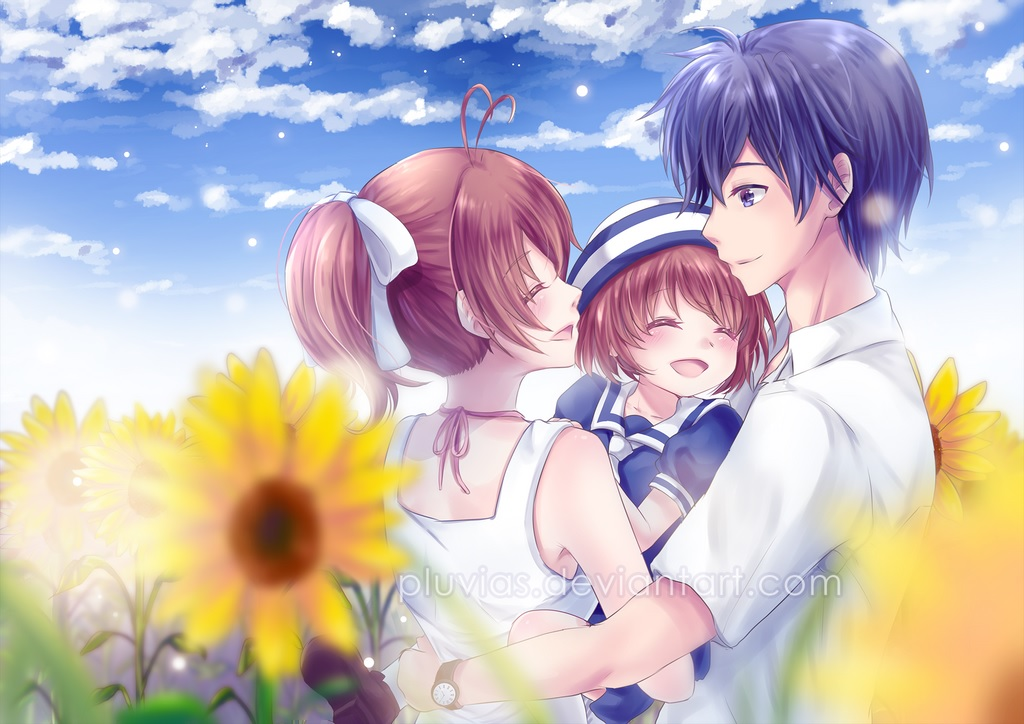 Clannad wallpaper cool anime