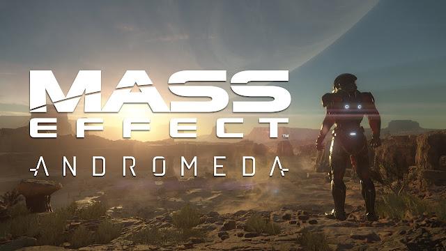 imagen promocional del videojuego de exploración espacial Mass Effect Andromeda