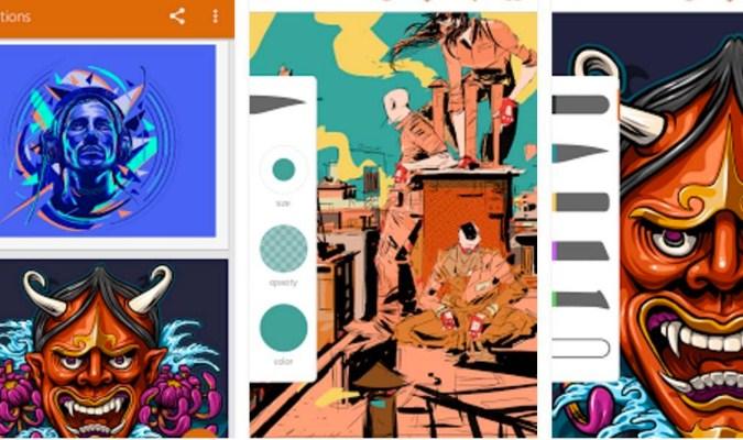 Aplikasi tuk Menggambar di Smartphone Android - Adobe Illustrator Draw