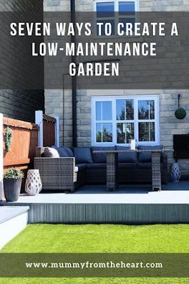 low maintenance garden pin