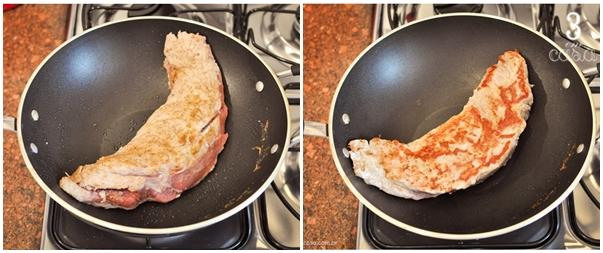 como fazer rosbife de carne de porco