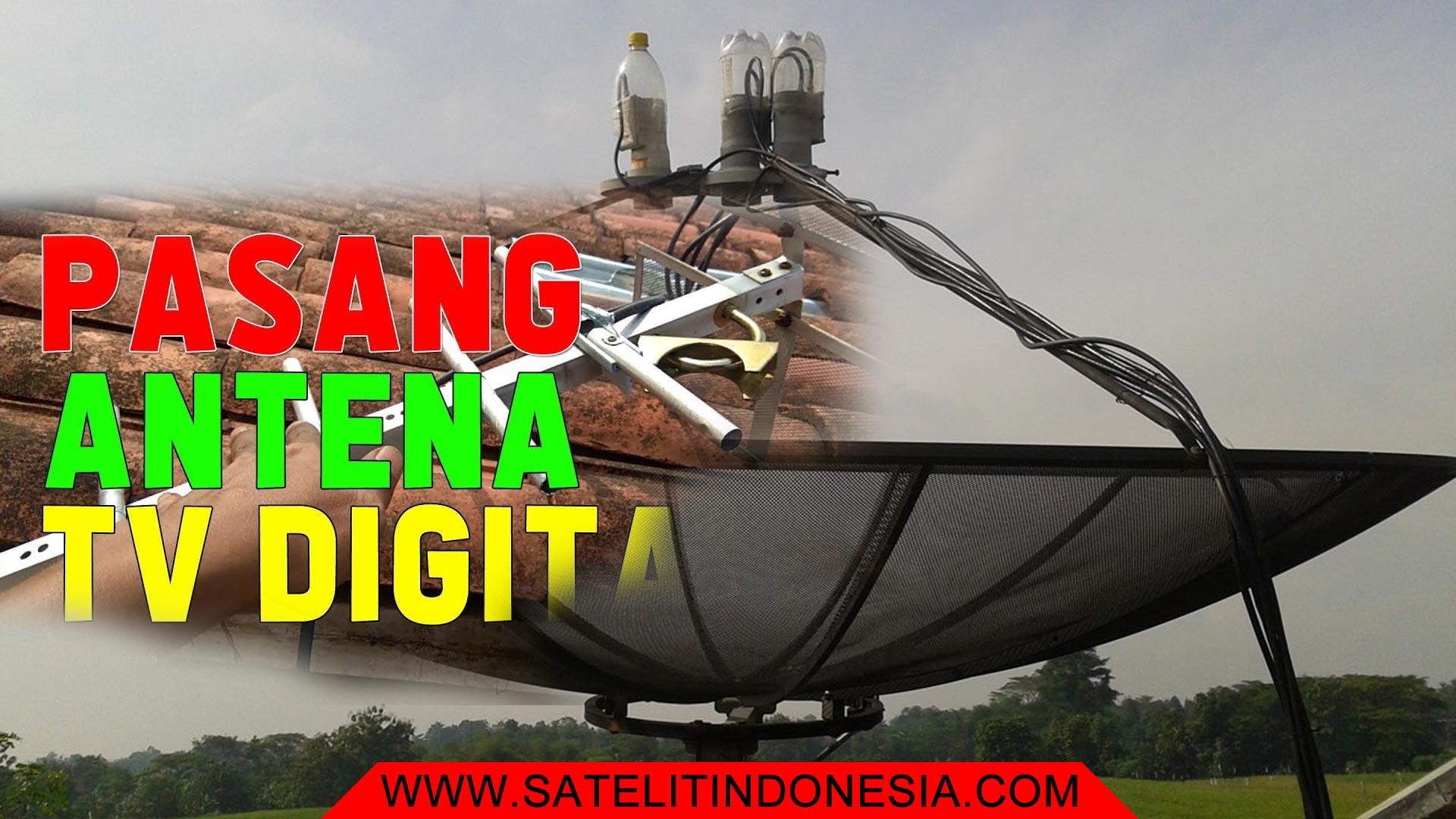 Pilih TV Digital UHF Atau Satelit Parabola