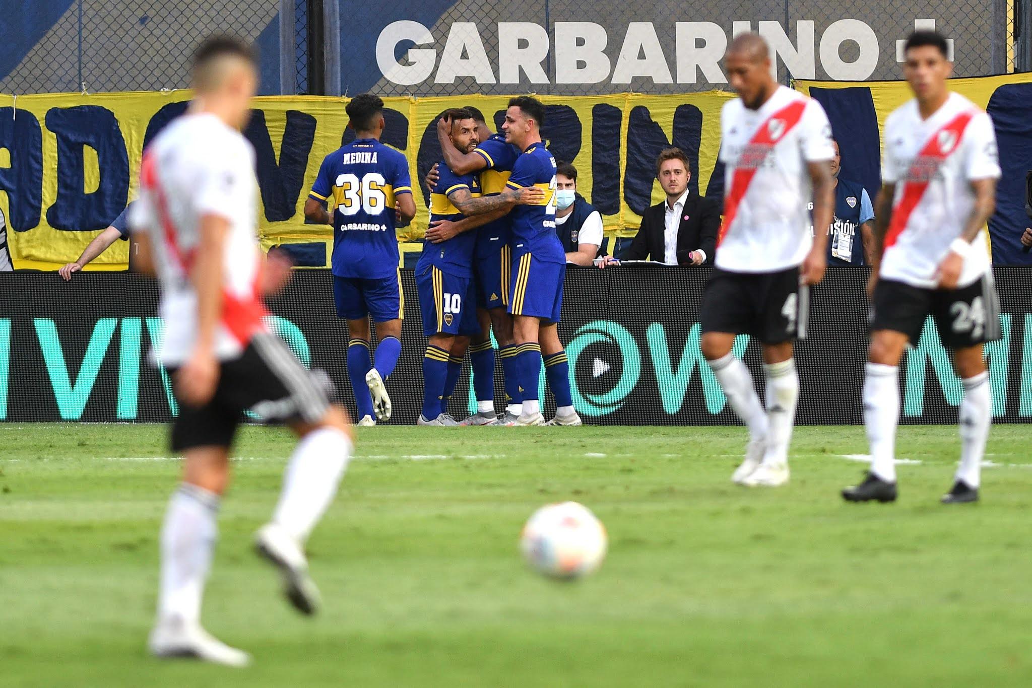 FOTOS: Las mejores imágenes del empate 1-1 de Boca frente a River