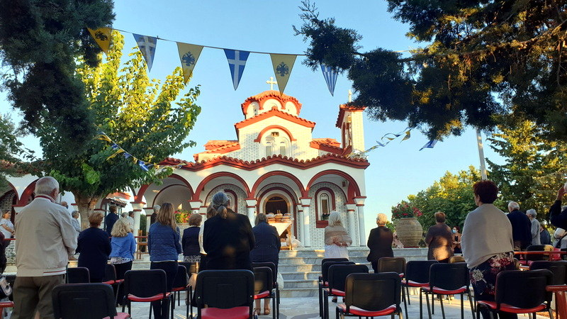 Πανήγυρις Παρεκκλησίου Αγίου Κυπριανού στο 9ο χλμ Αλεξανδρούπολης - Μάκρης