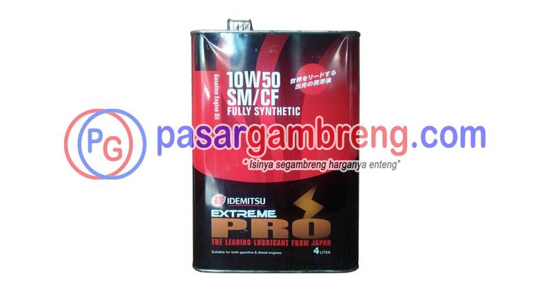 Harga Idemitsu Extreme Pro 10W-50