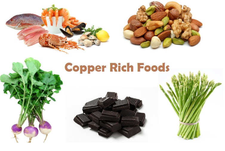 Food with copper in it