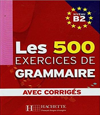 les 500 exercices de  grammaire avec corrigés pdf