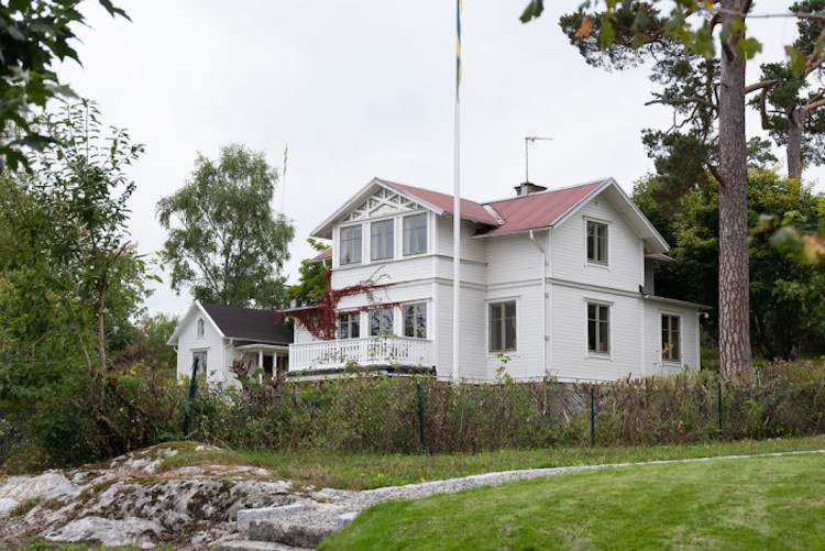 The Stockholm Archipelago Home of a Swedish Stylist Could Be Yours!