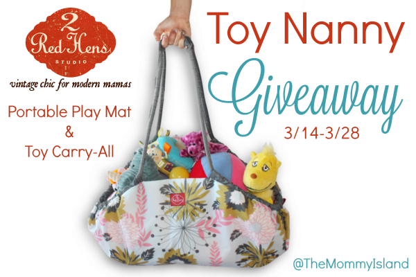 Carry All Their Toys With The 2 Red Hens Toy Nanny