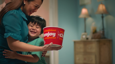 Jollibee's New Chickenjoy TVC invites Pinoys to #GiveMoreJoy