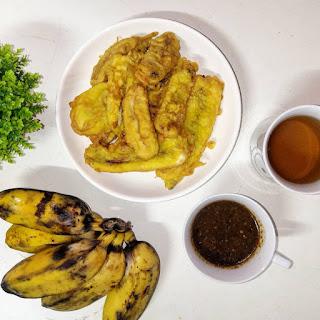gerai pisang goreng power, pisang goreng sedap batu pahat, pisang goreng, pisang goreng sedap banang jaya