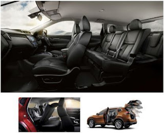 Interior Design Nissan X-Trail