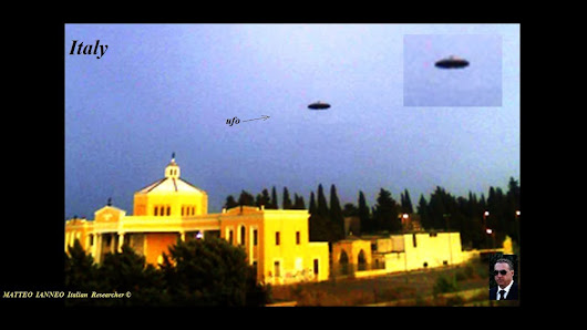 UFO ITALY! Unidentified UFO objects. (video)