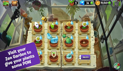 Plants vs Zombies 2 Mod Apk Data v5.5.1 Unlimited Money+Gems