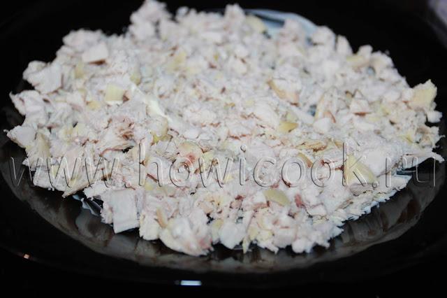 рецепт салата с ананасом и курицей с пошаговыми фото
