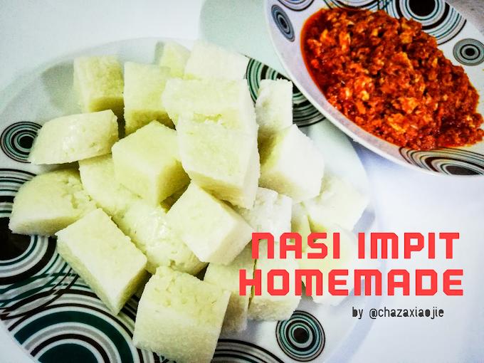 Cara Buat Nasi Impit Sendiri di Rumah Menggunakan Periuk Pressure Cooker