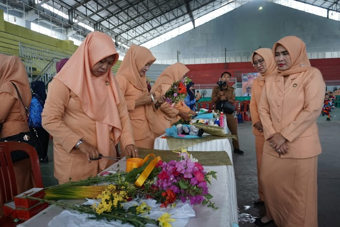 HUT Dharma Wanita Persatuan (DWP) ke-20 Gelar Berbagai Perlombaan Se Kab Lamsel