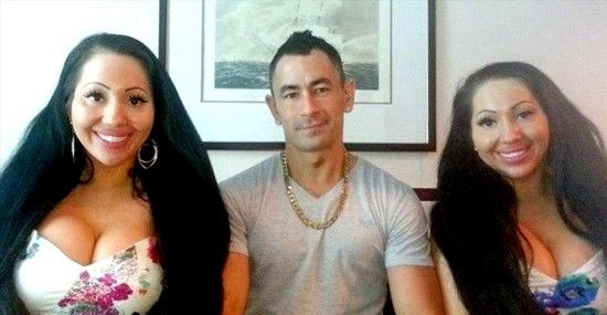 Bizarro: gêmeas idênticas dividem o mesmo homem e tentam engravidar