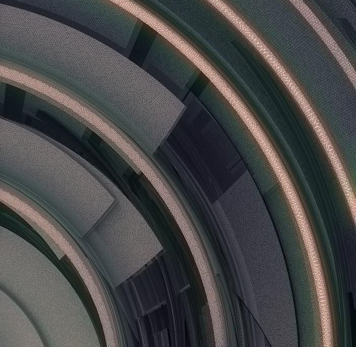 Render Processing, by Jim Keaton ©Structured Art 2020, Gardner keaton Inc.