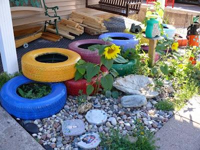 Proyecto DIY para reciclar llantas