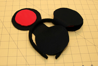 Minnie mouse ears template joy studio design gallery for Template for minnie mouse ears