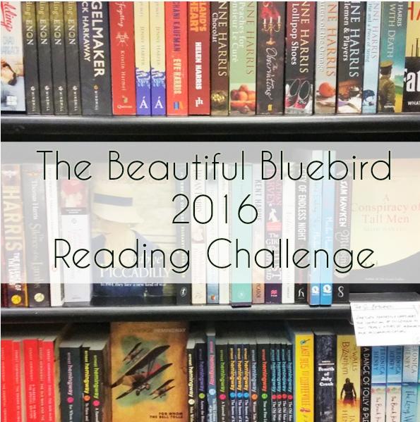 The Beautiful Bluebird: 2016 Reading Challenge - 50 books, 50 categories