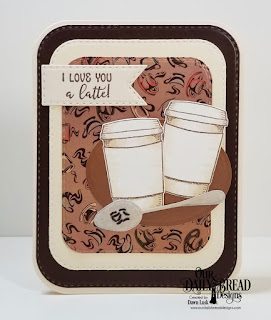 Our Daily Bread Designs Stamp/Die Duos: Hug In A Mug, Paper Collection: Latte Love, Custom Dies: Cups & Mugs, Ovals, Double Stitched Pennant Flags, Doubles Stitched Rounded Rectangles, Rounded  Rectangles