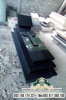 Kijing Makam Kristen Granit, Pusara Makam Kristen
