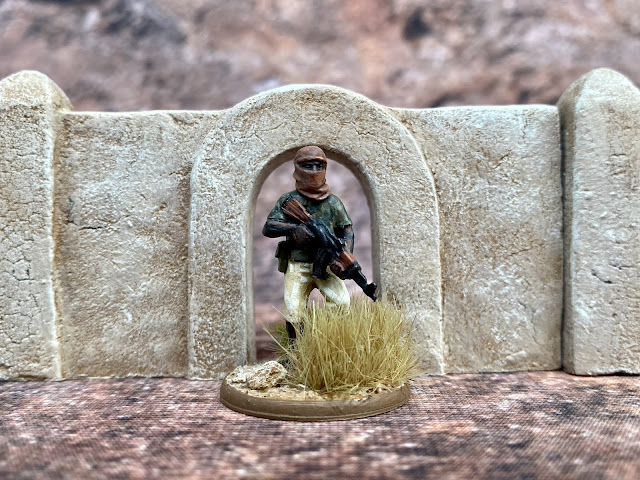 28mm Adobe Walls from Fogou Models for Western Africa, Mali and the Sahel