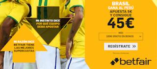 betfair supercuota Final Copa America Brasil gana a Peru 7 julio 2019