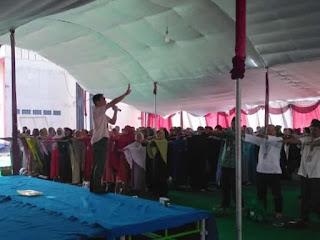 Edukasi Kesehatan Kpd Jamaah Kbih Al Inayah bersama Susu Haji Sehat, Cilegon Banten