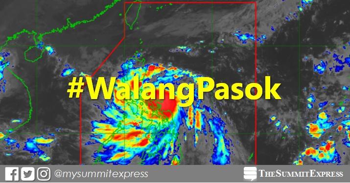 #WalangPasok: Class suspensions, Monday, October 26, 2020