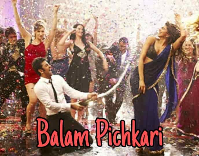 Vishal Dadlani song Balam pichkari lyrics from Yeh Jawaani Hai Deewani