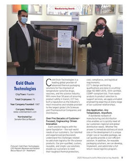 Cold Chain Technologies in the news