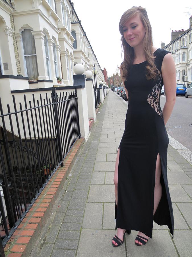boohoo prom dress veronica lace
