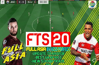 Download Game Android FTS 20 Mod FULL ASIA