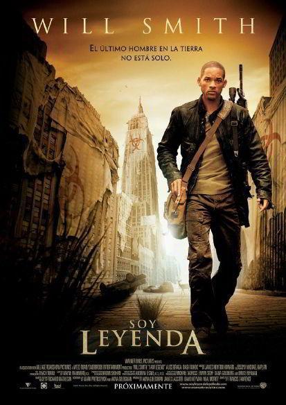 Download I Am Legend (2007) Full Movie in Hindi Dual Audio BluRay 720p [1GB]