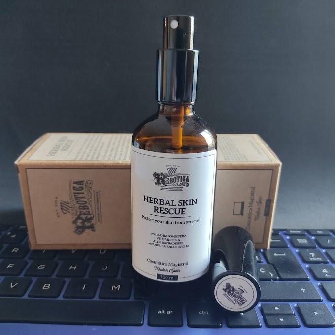 """""""Herbal Skin Rescue"""" de Mi Rebotica, protege tu piel de las pantallas"""
