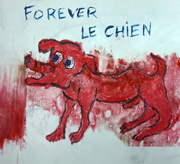 Forever le chien - 2019 - 41,6X46