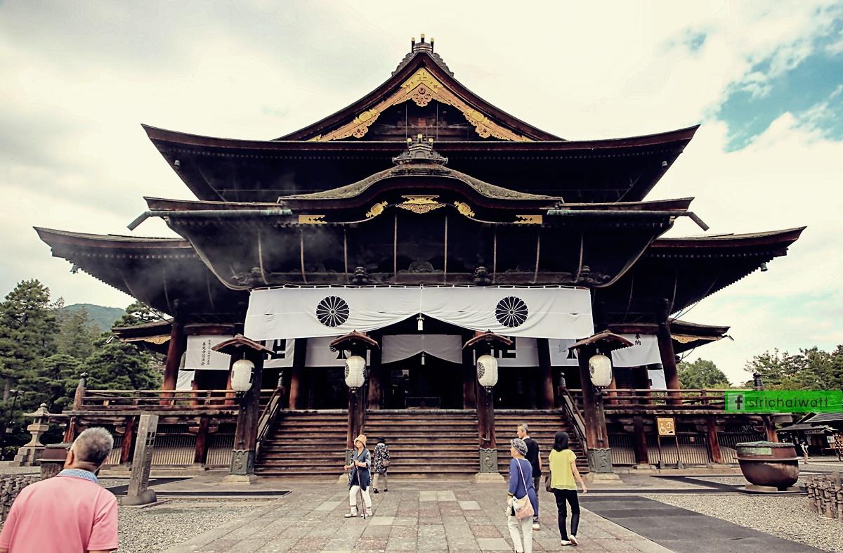 วัดเซ็นโกจิ, Zenkoji Temple, Nagano, นากาโน่, ญี่ปุ่น, Japan